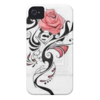 Rosen-Tätowierungs-Telefon-Kasten iPhone 4 Case-Mate Hüllen