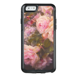 Rosen und Fliedern auf einer Zement-Bank-feinen OtterBox iPhone 6/6s Hülle