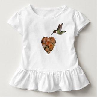 Rosen und Kolibri Kleinkind T-shirt