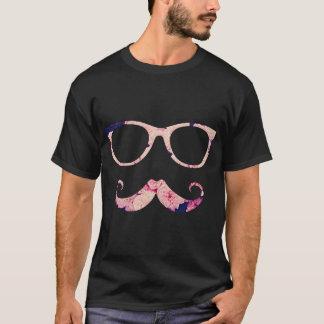 Rosen und Schnurrbart T-Shirt