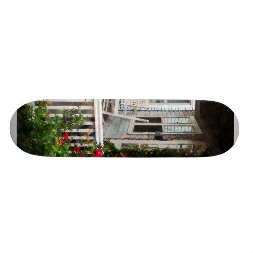 Rosen und Schwingstühle Bedrucktes Skateboard