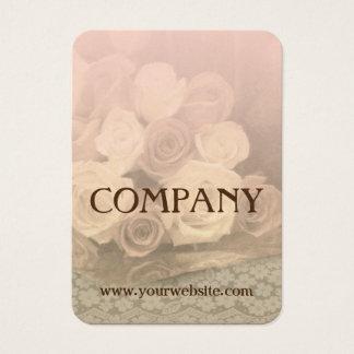 Rosen und Spitze Visitenkarte