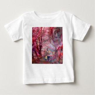 Rosen wachsen mit Liebe Baby T-shirt