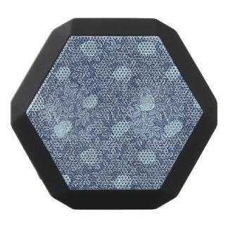 Rosen-weißes blaues Muster Schwarze Bluetooth Lautsprecher