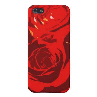 Rosenbeschaffenheit Etui Fürs iPhone 5