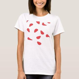 Rosenblumenblätter T-Shirt