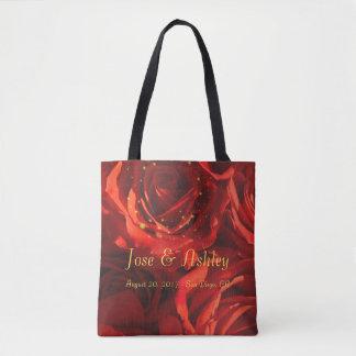 Rosenblumenstrauß-Taschentasche Tasche