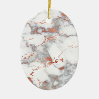 Rosengoldmarmorbeschaffenheit Keramik Ornament