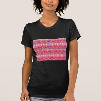 Rosenknospe-Rosen-Blumenblatt-Kunst-Spektrum T-Shirt