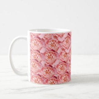 Rosenmuster coffe Tasse