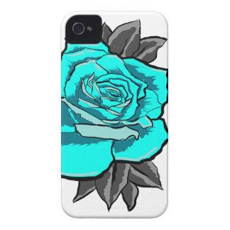 Rosentätowierungsblitz iPhone 4 Hüllen