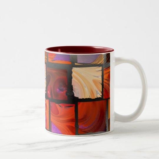 Rosetiles Zweifarbige Tasse