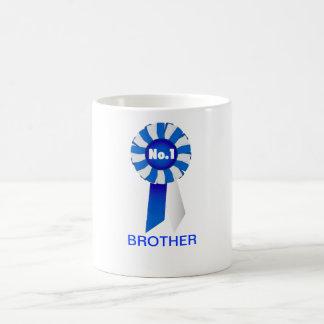 Rosette in der Blauer und Bruder-Tasse Weiß-Nr. 1 Tasse