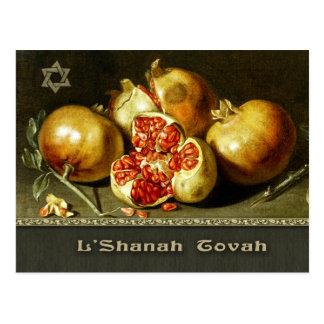 Rosh Hashanah. Jüdische neues Postkarte