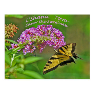 Rosh Hashanah kardiert Geschenke Postkarte