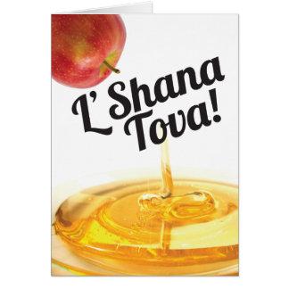 Rosh Hashanah Karte - L'Shana Tova!