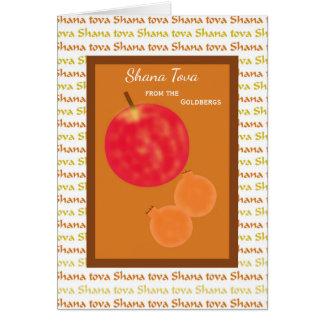 Rosh Hashanah Shana Tova Karte