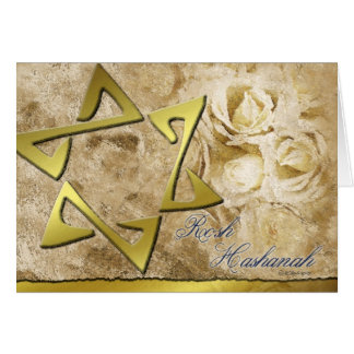 Rosh Hashanah-StarofDavid Karte