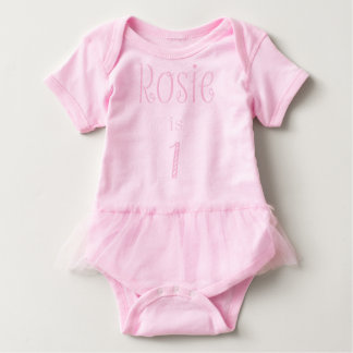 Rosie, Ballettröckchen Baby Strampler