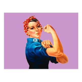 Rosie das Plakat des Nieteneinschläger-WWII Postkarte