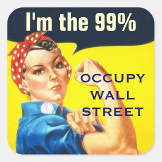 Rosie der Aufkleber des Nieteneinschlägers OWS