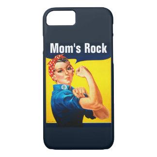 Rosie der Felsen der Nieteneinschläger ~ Mammas iPhone 7 Hülle