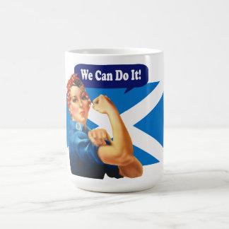 Rosie der Nieteneinschläger für schottische Tasse