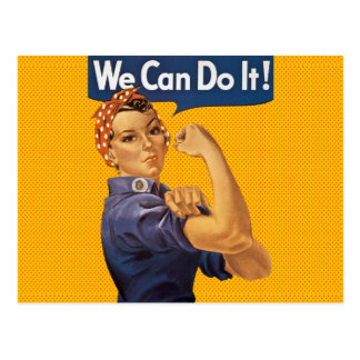 Rosie der Nieteneinschläger können wir ihn tun Postkarte