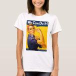 Rosie der Nieteneinschläger können wir ihn tun T-Shirt