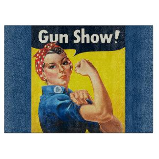 Rosie der Nieteneinschläger: Waffenmesse! Schneidebrett