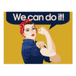 Rosie Nieteneinschläger können wir ihn tun Postkarte