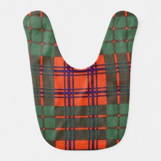 Ross-Clan karierter schottischer Tartan Lätzchen