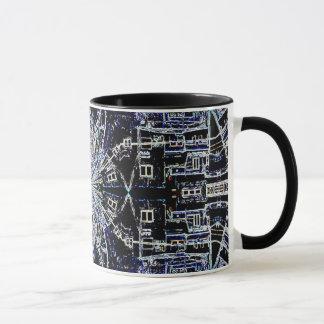 """Ross Kunst-Tasse """"Jerusalems Wallscapes"""" Digital Tasse"""
