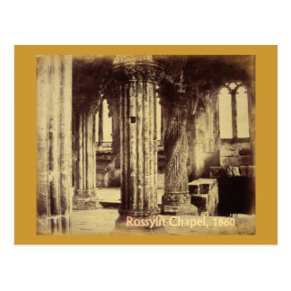 Rosslyn-Kapellen-Postkarte 1860 Postkarte