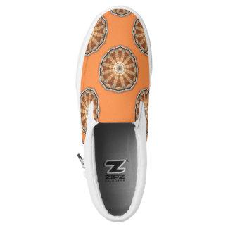 Rost-Mandala 009, Farben des Rosts Slip-On Sneaker