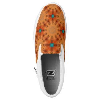 Rost-Mandala, Farben von Rost 02,3 Slip-On Sneaker