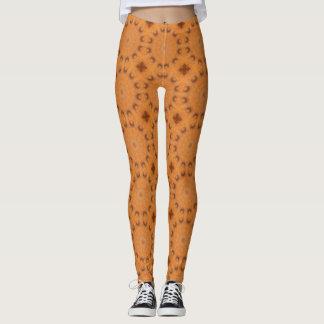 Rost-Mandala, Farben von Rust_843_2 Leggings