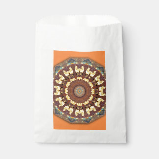Rost-Mandala, ROSTart 785 Geschenktütchen