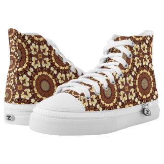 Rost-Mandala, ROSTart 785 Hoch-geschnittene Sneaker