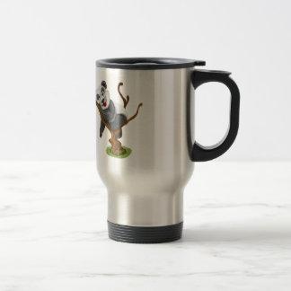 Rostfreie Kaffee-Tasse Reisebecher