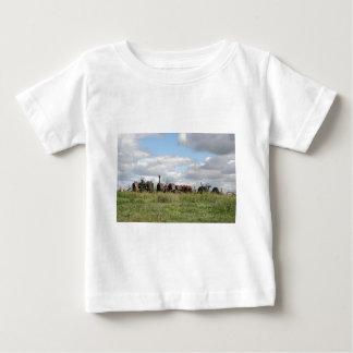 rostige Antiken warteten Baby T-shirt
