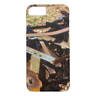 Rostige Bauernhof-Feld-Ausrüstung iPhone 8/7 Hülle