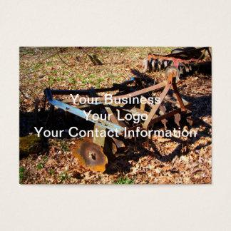 Rostige Bauernhof-Feld-Ausrüstung Visitenkarte