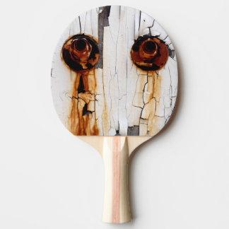 Rostige Bolzenmuttern und Schalen-Farbe Tischtennis Schläger