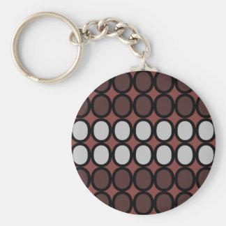 Rostige Brown-Umarmungen Schlüsselanhänger