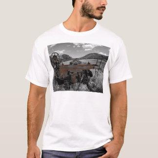 Rostige Eisenbahn-Autos T-Shirt