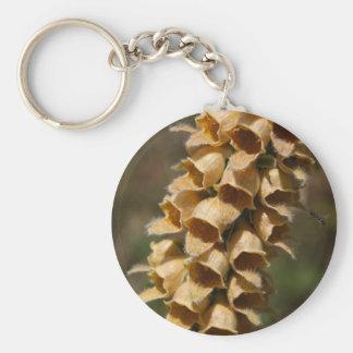 Rostige Fingerhut (Fingerhut ferruginea) Schlüsselanhänger