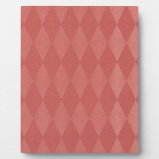 Rostige Lachsharlekine Fotoplatte