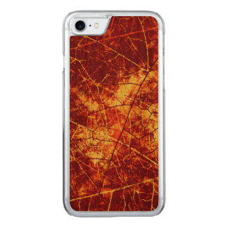 Rostige rote gebrochene carved iPhone 8/7 hülle