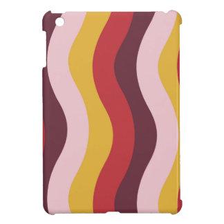 Rostige Wellen-Streifen iPad Mini Hülle